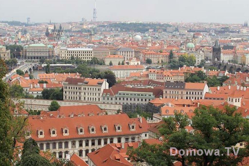 Widok na piękną Pragę