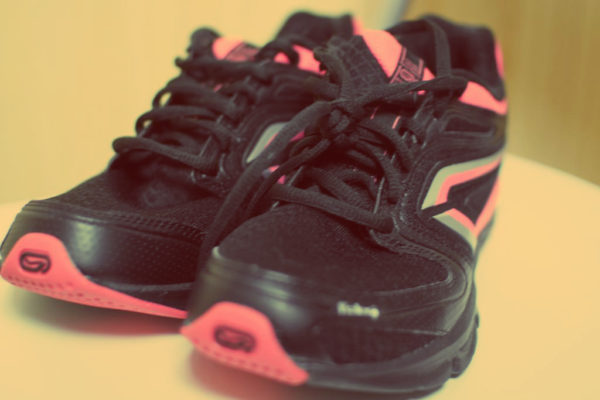 I buty sportowe, by zgubić kg :)