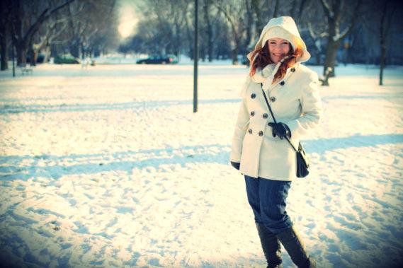 Mój strój na zimę w tym wymarzony płaszcz
