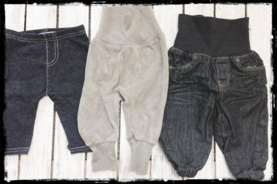 Leginsy, spodenki, jeansy
