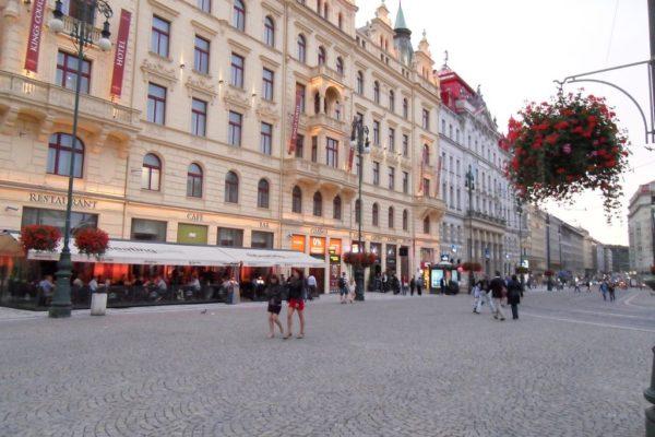 Okolice Placu Wacława