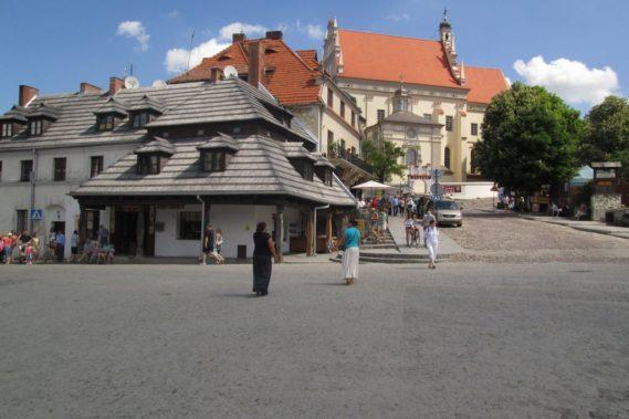Rynek W Kazimierzu - wcale nie było tak tłoczno, jak straszyliście :)