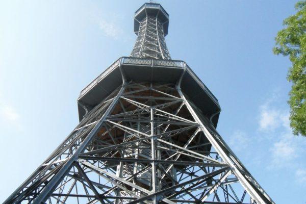 I widok na wieżę