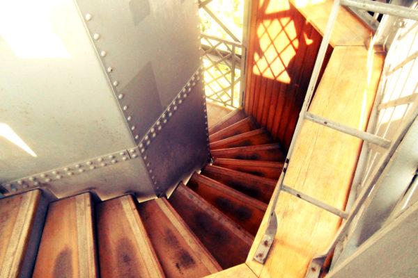 Schody z wieży