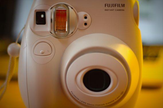 Polaroidowy Fuji Instax mini 7s