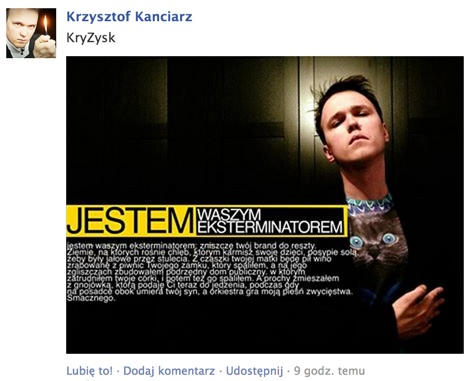 Odpowiedź Krzysztofa Kanciarza