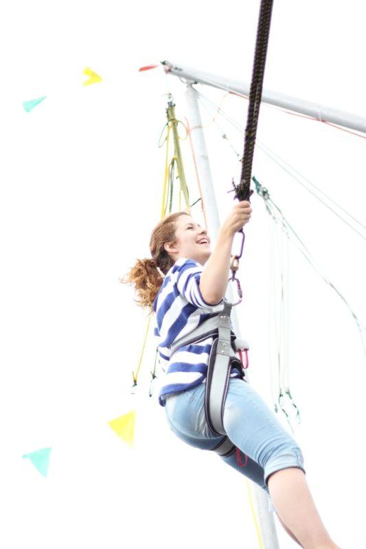 Można skakać - powiem Wam, że dzieci są odważniejsze!