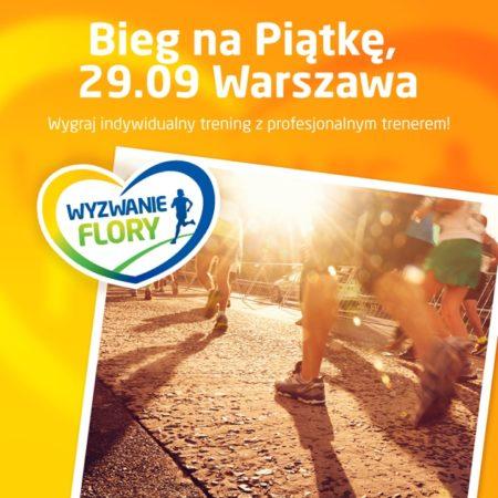 Biegnę na Piątkę w Maratonie Warszawskim