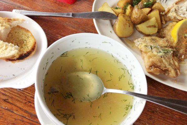 Zupa rybna i flądra – omnomnom