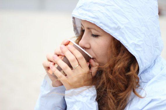 Herbata zamiast lodów :)