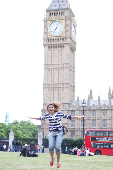 Big Ben - tak naprawdę do podziwiania głównie z zewnątrz :)