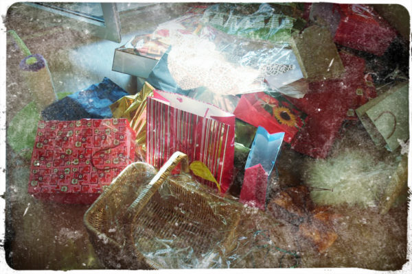 Opakowania po prezentach