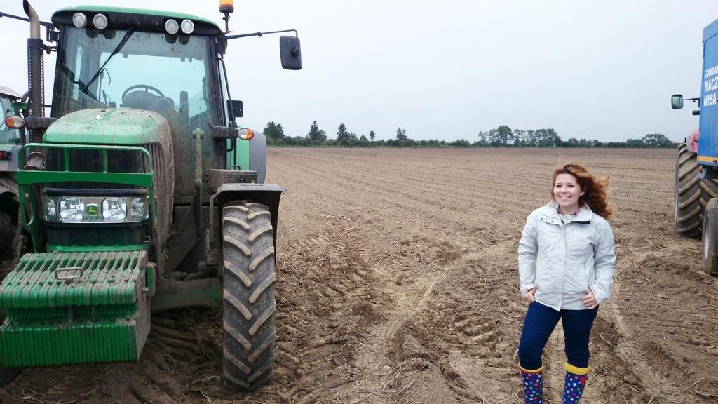 Mój pierwszy raz z traktorem :)