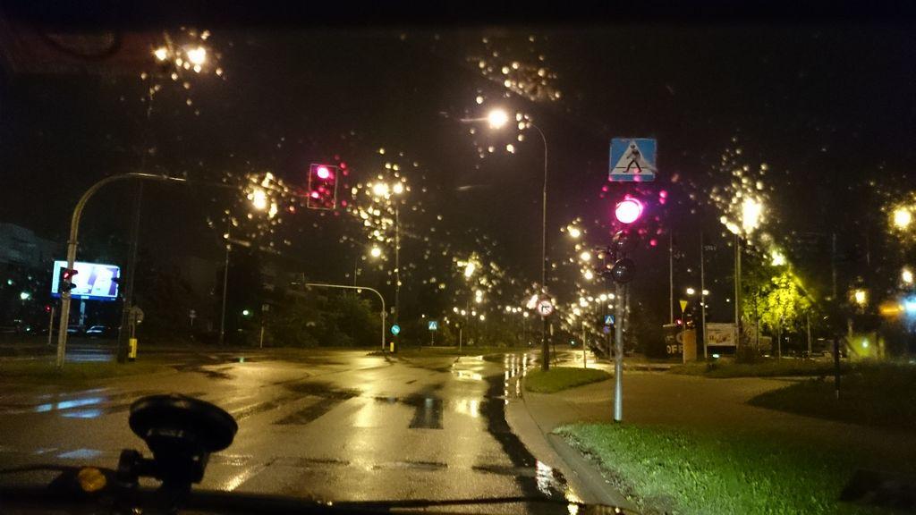 Godzina 4:30 rano (w nocy) ruszamy do Wrocławia