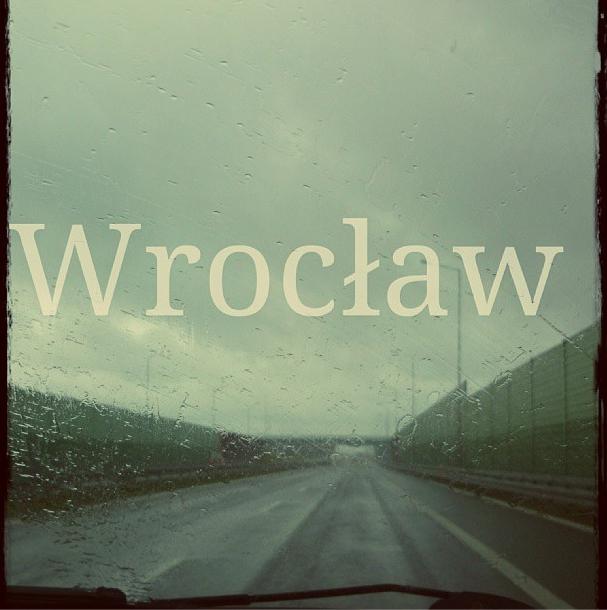 Wrocław powitał nas deszczowo :) to foto przerabiałam przez Pixlr