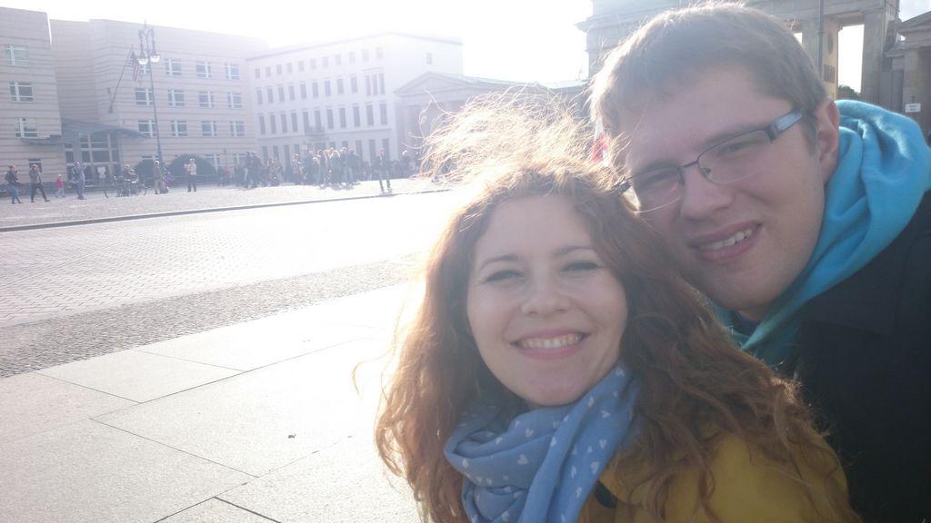 Słitfocia w stronę Bramy Brandenburskiej
