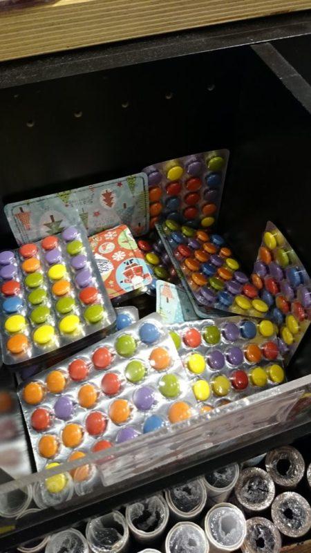 Cukierki, które wyglądem przypominają leki... no nie wiem? Fajne?