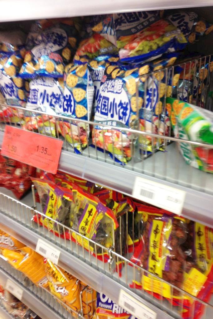 Chine Town market - musicie zajrzeć do jakiegoś i coś fajnego kupić