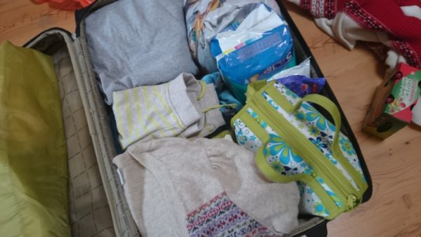 Z pakowaniem doszłam prawie do perfekcji. 1 walizka, 3 osoby i 17,5 kg :D