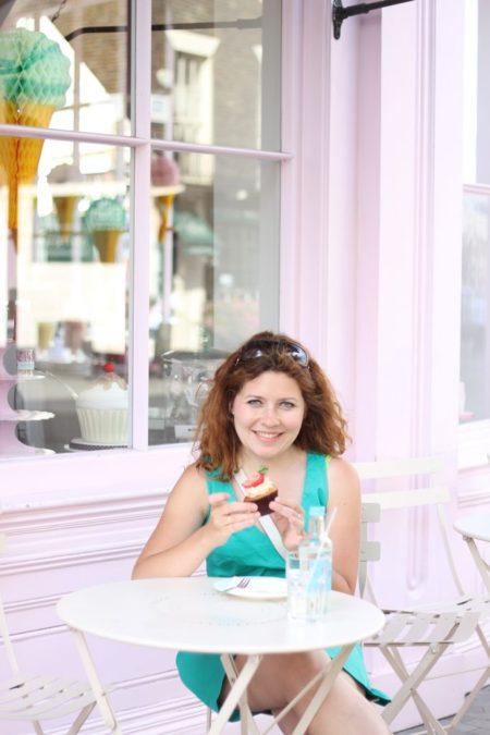 Peggy Porchen słodko, różowo :)