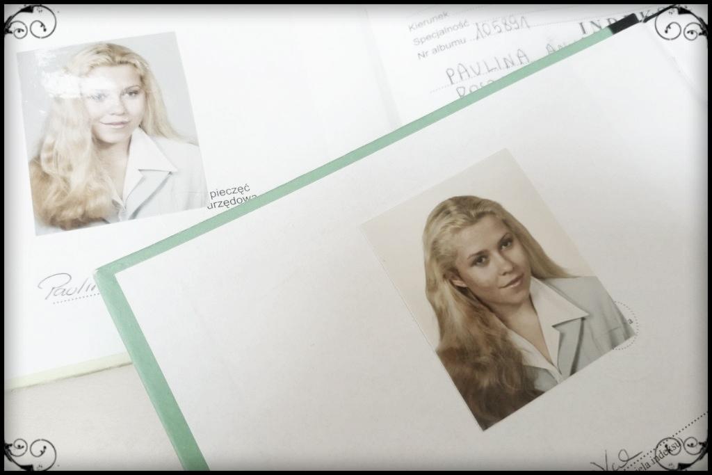 I drugi indeks - trochę dłuższe blond włosy
