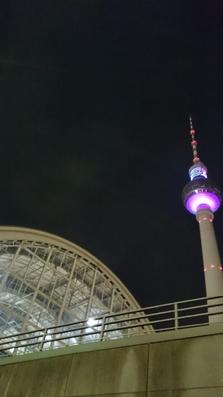 I Berlin! Wieża telewizyjna :)