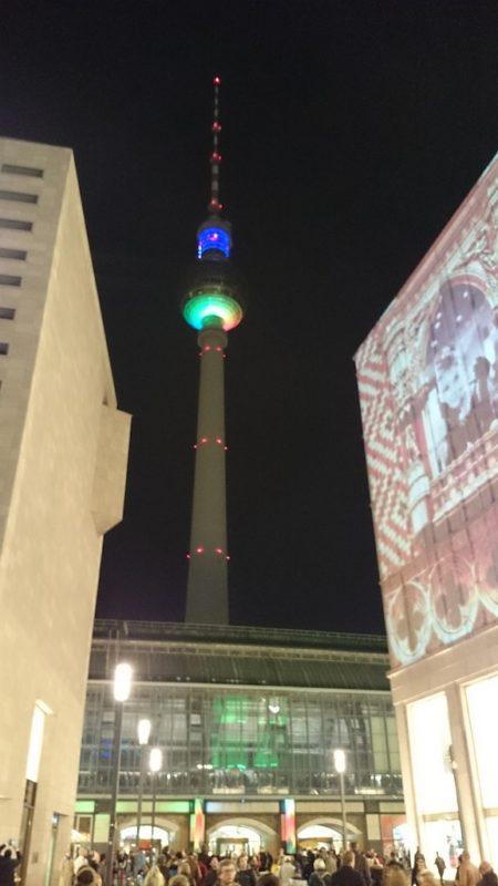 I wieża raz jeszcze - z tego miejsca przynajmniej kilka osób fotografowało ten obiekt :)