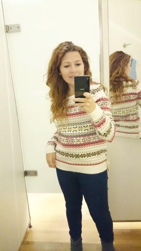 Jesienne zakupy i jeden ze swetrów :)