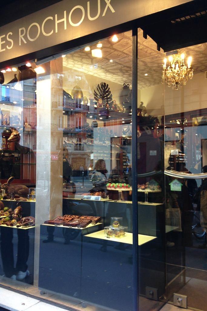 Sklep z czekoladkami, najróżniejszymi :)