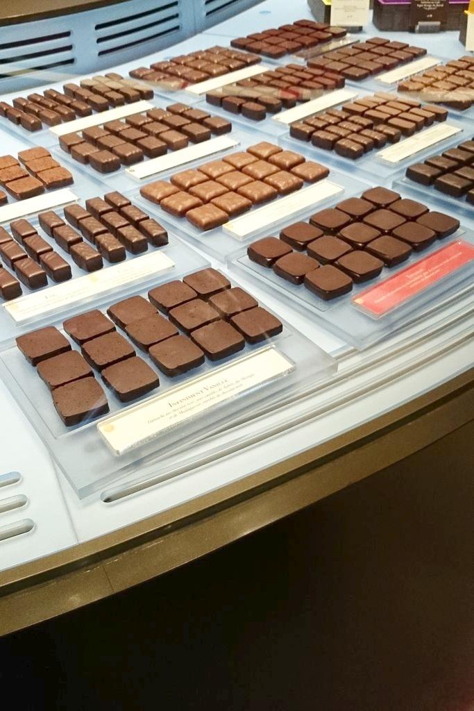Przyznaję, że pyszne są też czekoladki