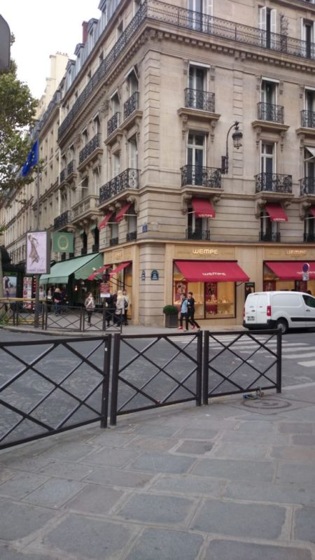 Jedna z ulic Paryża