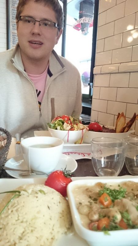 A to w Cafe Charlot, przypadkowe Bistro i najlepsze jedzenie ever! Naprawdę. Przepyszne!