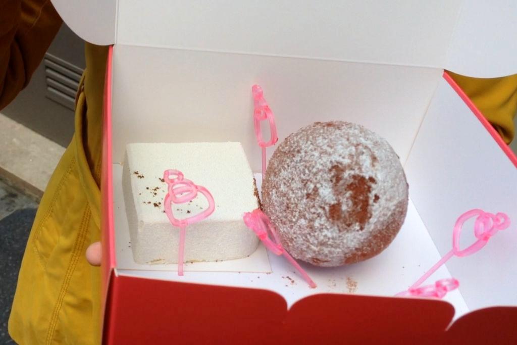 I cacka z tej cukierni, tak, jak wspomniałam, odrobinę jednak mnie rozczarowały...
