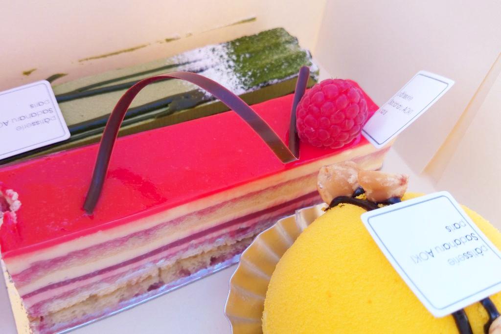 Zwróćcie uwagę jakie idealnie dopracowane są te słodkości, perfekcyjne :) W smaku dobre, zaskakujące Bamboo, ale mój hit to i tak kula :)