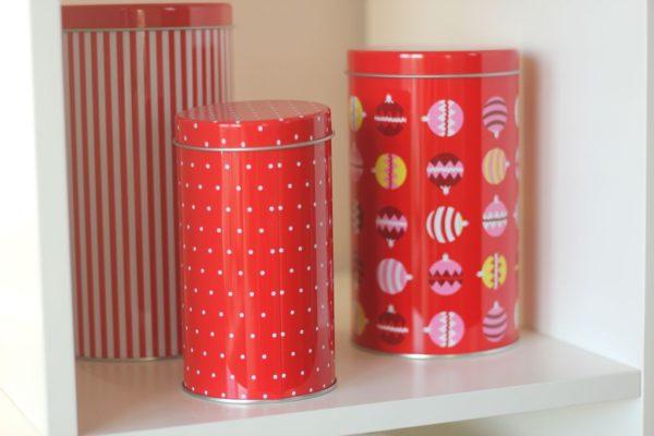 Pudełka na pierniczki, herbatę i drobiazgi :)