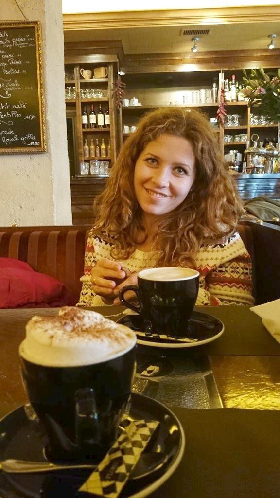 Codziennie robiliśmy kilka-kilkanaście kilometrowe spaery po Paryżu. Ciepła kawa to było TO czego mi trzeba