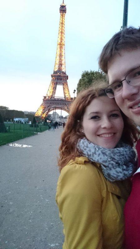 Zanim wyszło nam to zdjęcie (widać nas i wieżę) chyba postało kilkanaście innych, mniej udanych