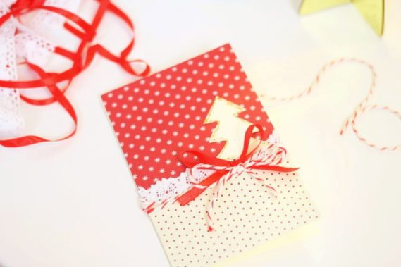 I gotowa kartka świąteczna