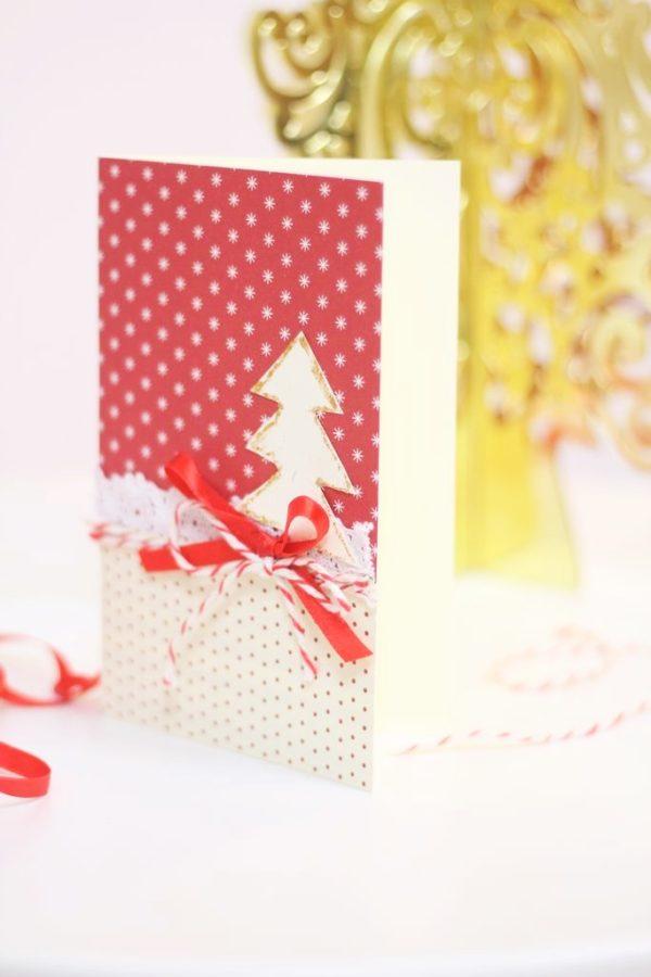 Zrobienie kartki świątecznej nie jest trudne, a na pewno można sprawić komuś radość :)