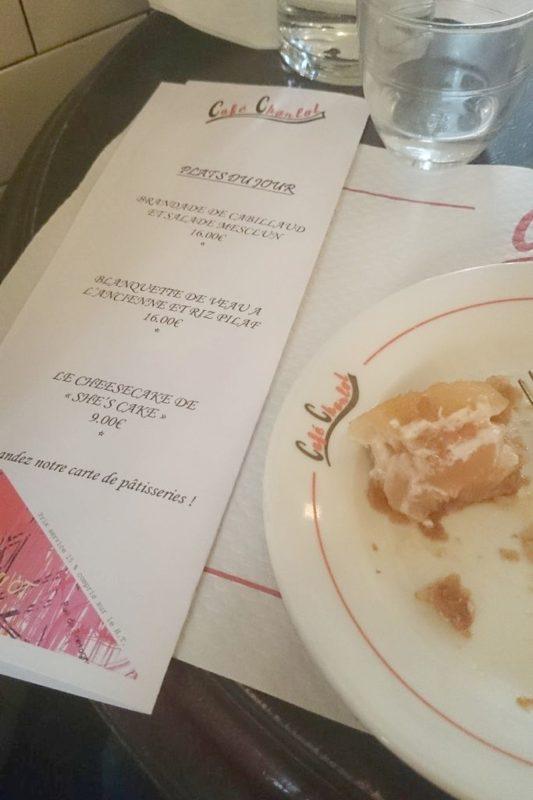 Obiad w paryskim bistro - najlepsze danie jakie jadłam :)