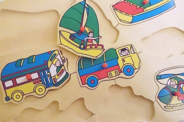 Puzzle drewniane są i fajną zabawką i rozwijają