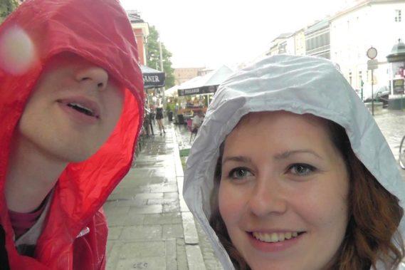 I deszczowo :)