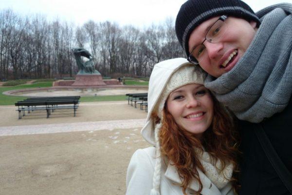 Zimowy spacer do Łazienek