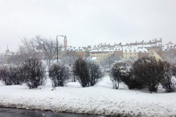 Kwiecień a dokłądniej 01.04.2013 i wcale nie prima aprilis, bo śnieg był
