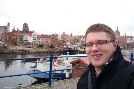 Michał w Gdańsku