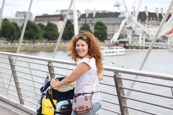 W Londynie do jednego musiałam się przyzwyzaić – wiało straaaasznie