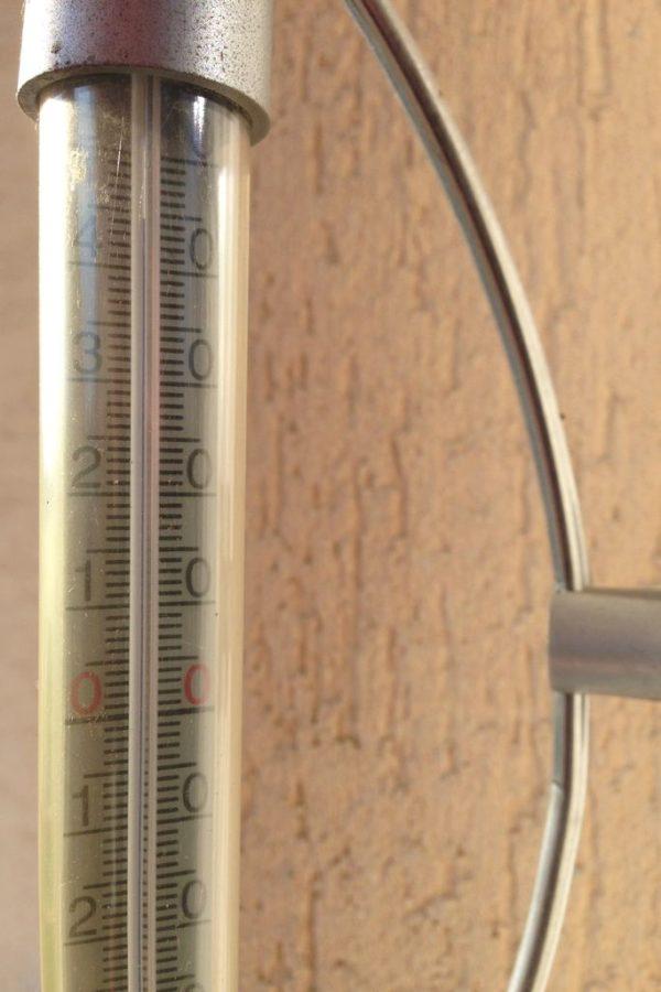 Temperatura w Polsce zaraz po powrocie :)