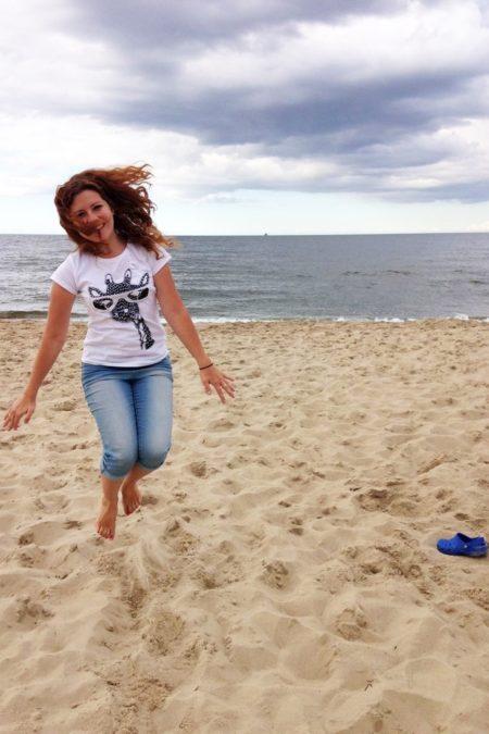 I polskie morze po raz drugi w tym roku, tutaj Wyspa Sobieszewska - fantastyczne miejsce
