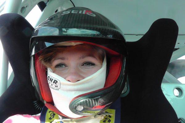 Jechałam w driftowozie :)