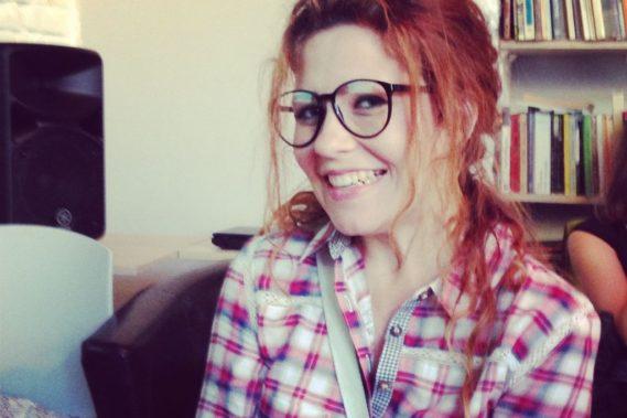 A to ja, brałam udział w spotkaniu Geek Girl Carrots w Białymstoku, gdzie dawałam Prelekcję. A przy okazji fajnie wyglądam w takich okularach :D